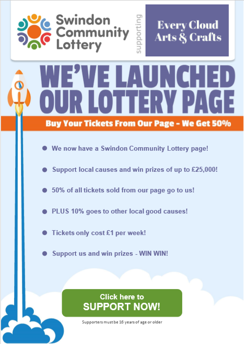 Swindon Commuity Lottery Every Cloud Arts and Crafts