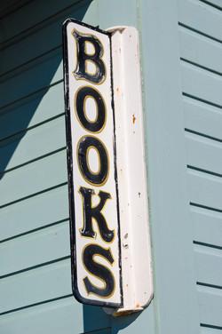 Books Sign