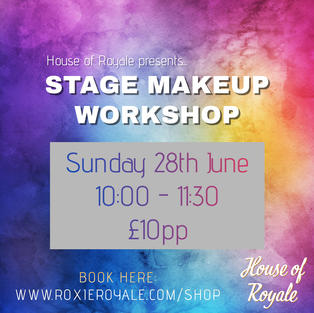 STAGE MAKEUP WORKSHOP