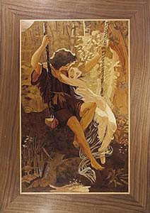 Springtime (after Auguste Cott) by Les Dimes. A classic painting