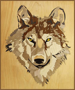 Niamh's wolf by Les Dimes.