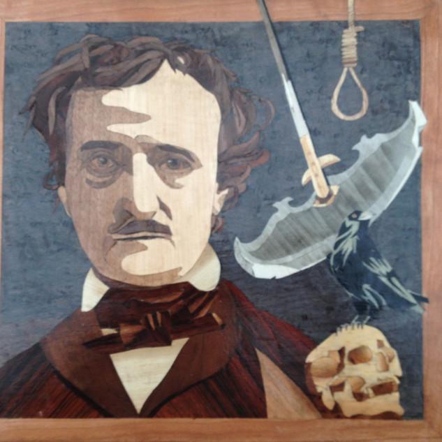 Macabre writer and poet Edgar Allen Poe