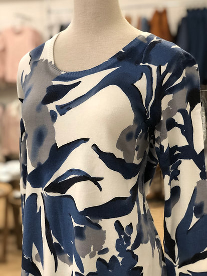 Blue/Multi Floral Top