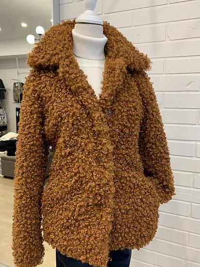 Copper Teddy Coat