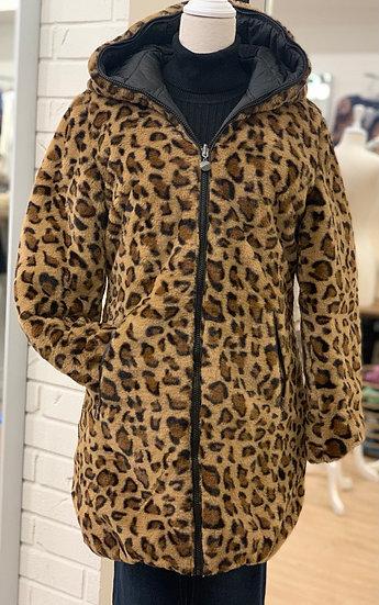Reversible Cheeta Coat