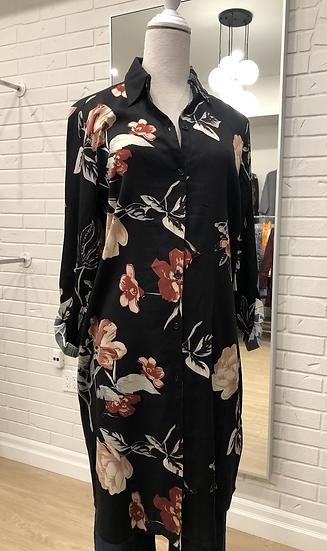 Floral Tunic/Cardigan