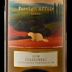 Foreign Affair - Chardonnay 2018 (Canada)