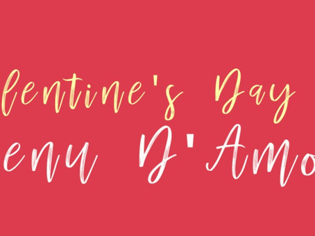Our up-in-the-air plans for Valentine's Day...