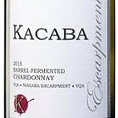 Kacaba Barrel-Fermented Chardonnay 2015 (Canada)