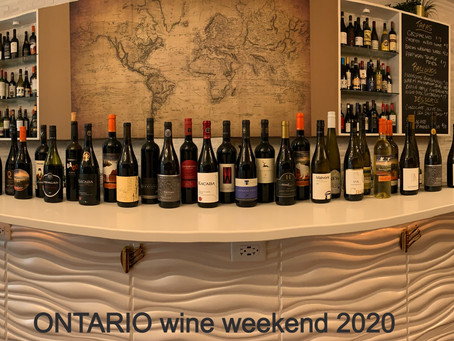 Mark your calendars for Ontario Wine Weekend!