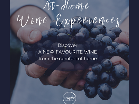 All new At-Home Wine Experience packages now available.