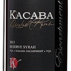 Kacaba Reserve Syrah 2015 (Canada)