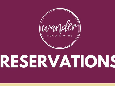 Making a Reservation With Us