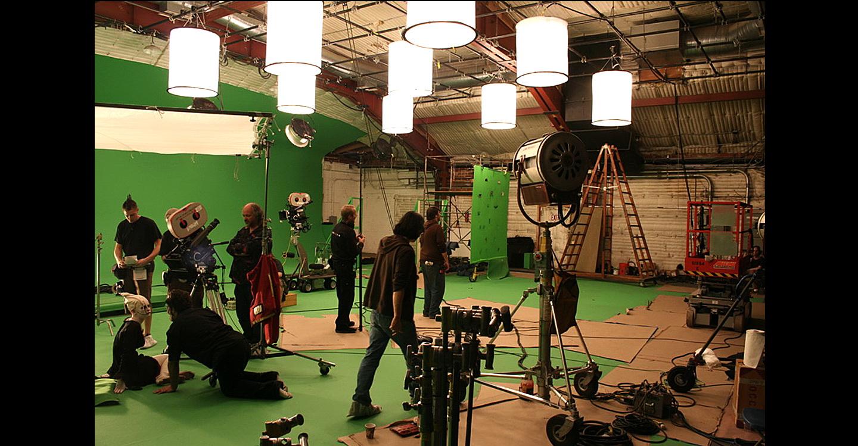 walking the set