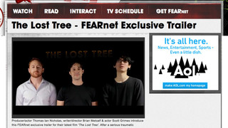 FearNet - The Lost Tree trailer announcement