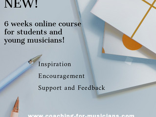 Online course for musicians