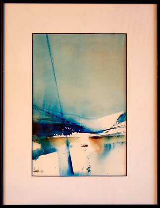Over the Port Bow ... The Glacier, 2020