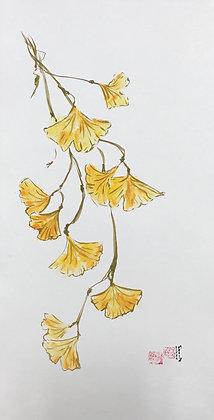 Autumn Gingko, 2017
