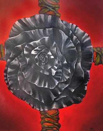 Black Rose and Cross, 2021