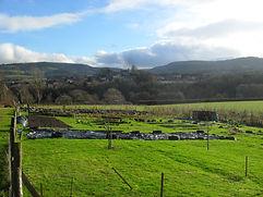 The Beautiful setting of Hayfield Community Garden, Hay