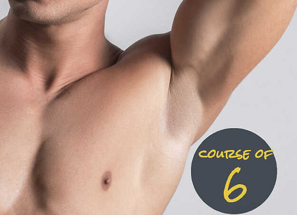 Underarms for him 6 Sessions