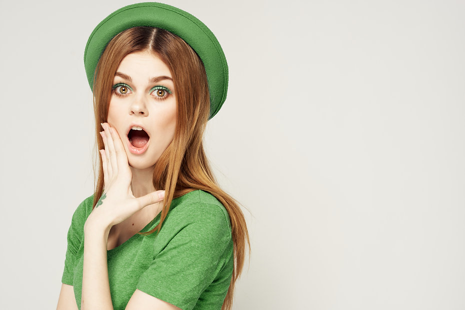 bigstock-Girl-In-Green-Clothes-With-Hat-