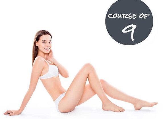 Half legs & Basic Bikini 9 Sessions