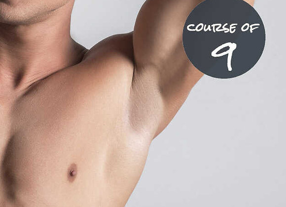 Underarms for him 9 Sessions