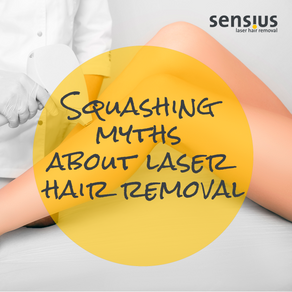 Squashing myths about laser hair removal
