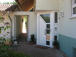 2.Der Eingang für die