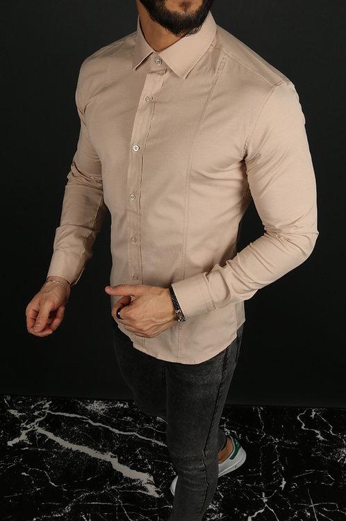 Slim Fit Likralı Zara Gömlek