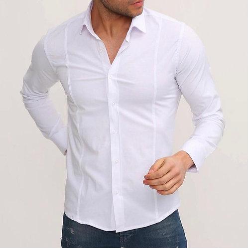 Slim Fit Zara Model Beyaz Gömlek