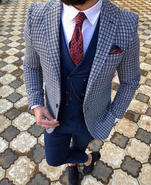 Slim Fit BlazerYün Ceket