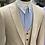 Thumbnail: Mavi İğneli Sivri Yaka Pamuk Gömlek