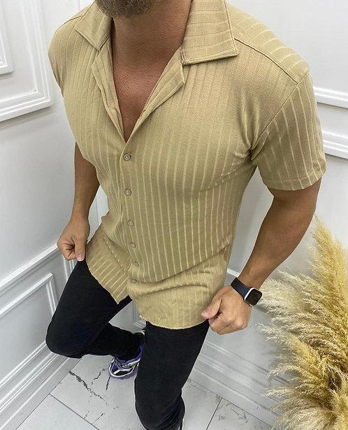 Dar Kesim Likralı Gömlek