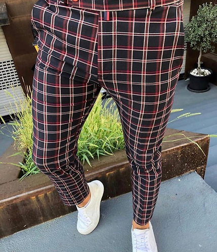 Slim Fit Likralı Pantolon