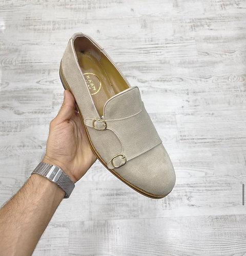 Italian Hakiki Deri Süet Ayakkabı