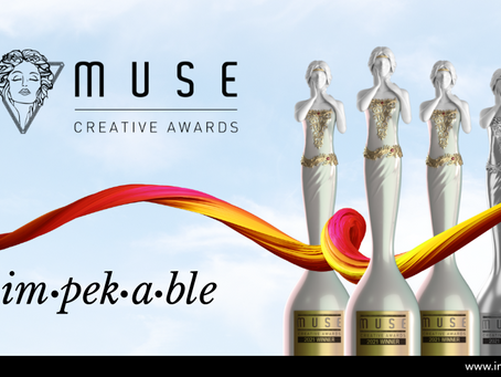 Impekable Walks Away Victorious in the 2021 MUSE Creative Awards