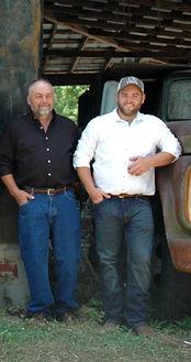 Joe and Joseph Bowen the Camp Owners