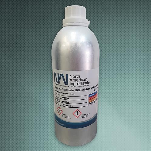 1 Liter Nicotine Salicylate Salts 18% in PG