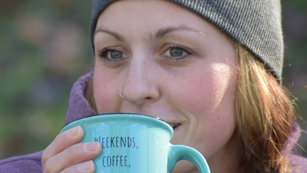 Weekends, coffee, & dogs mug