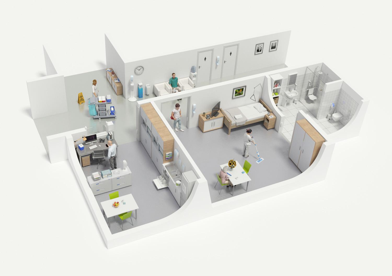 Hagleitner_3DIllustration_Spital_Update2