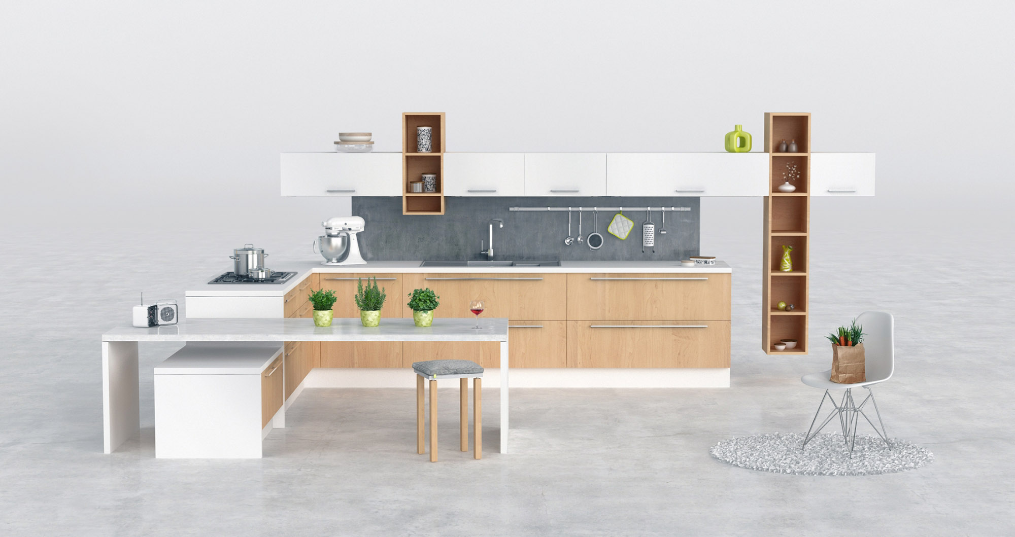 MK_3DIllustration_KitchenVisualization