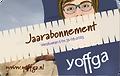 Digitale cadeaukaart jaarabonnement Yoff