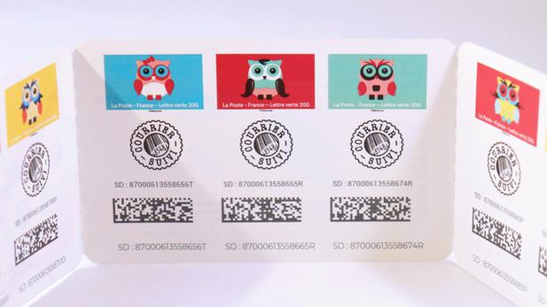 Le timbre suivi - La Poste