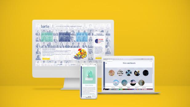 Refonte site web - Bartle