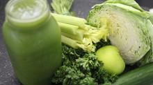 ¡Desintoxícate con jugos verdes!