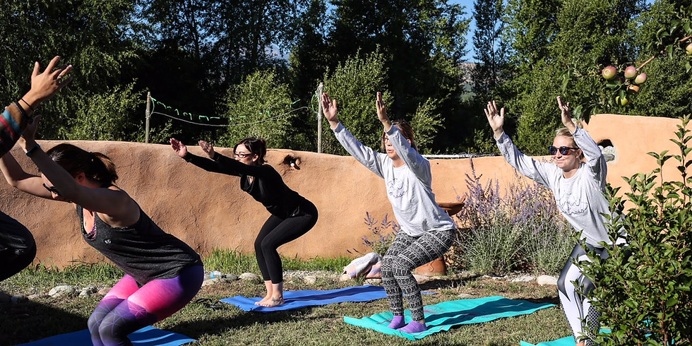 Durango Outdoor Yoga Class