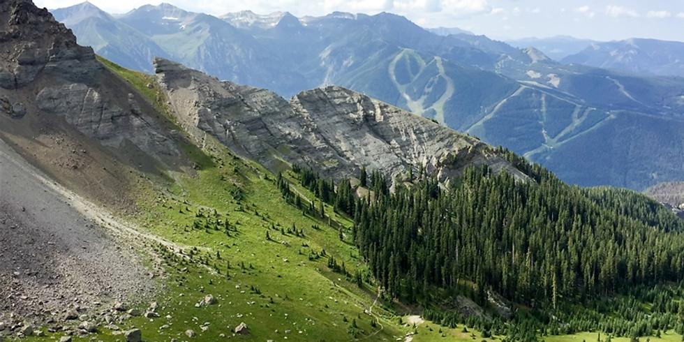 Telluride Hiking the Mt. Sneffels Highline Trail