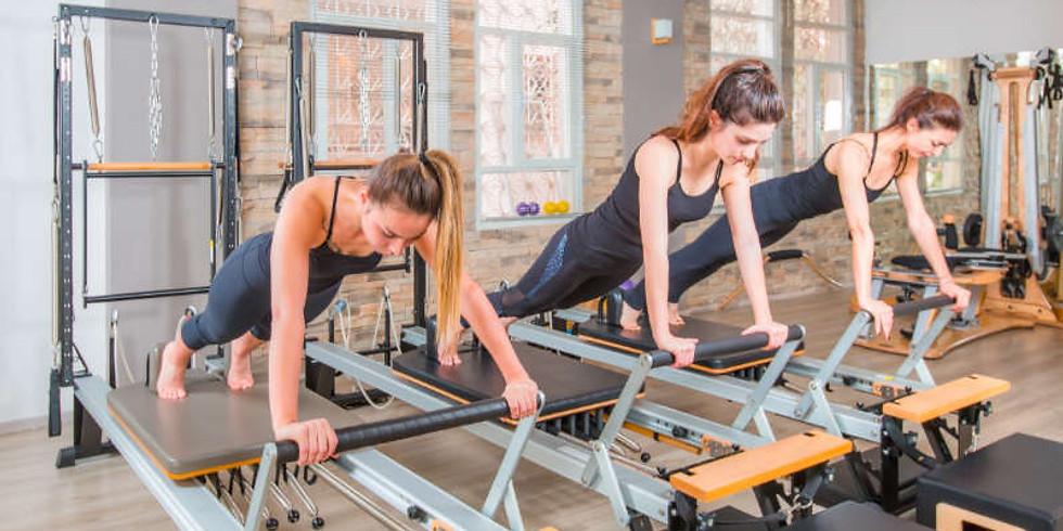 Denver Pilates Reformer Class at Fierce45